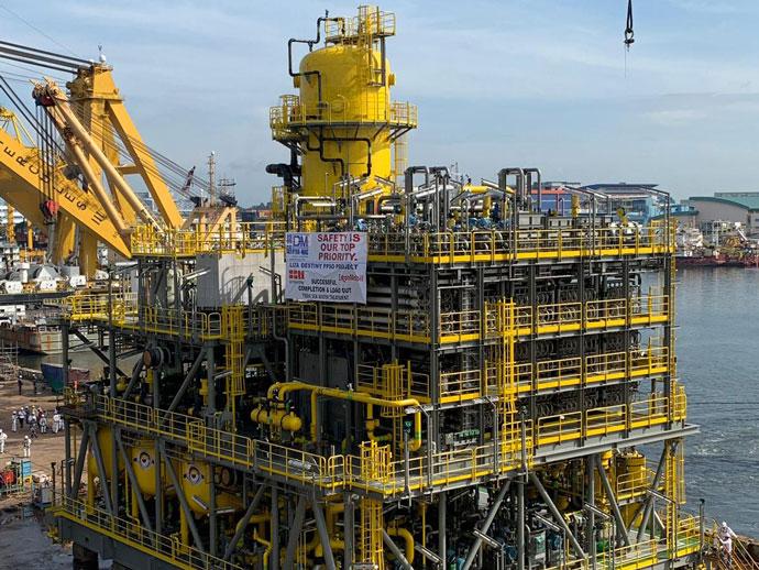 ExxonMobil Liza Destiny FPSO