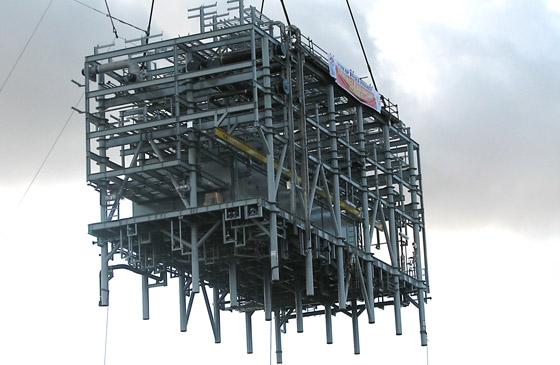 FPSO BP Angola – Pipe Racks