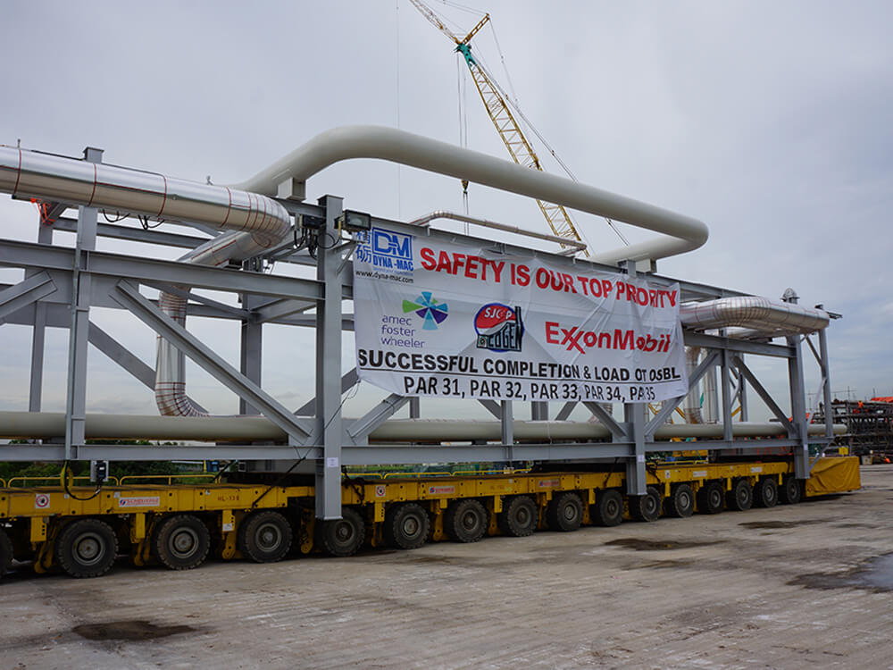 Singapore Jurong Cogen Project - Pipe Racks