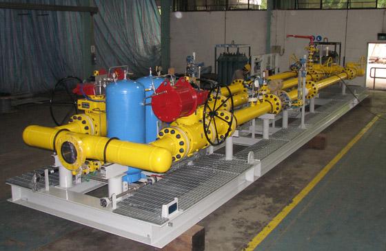 Emerson Gas Metering Skid