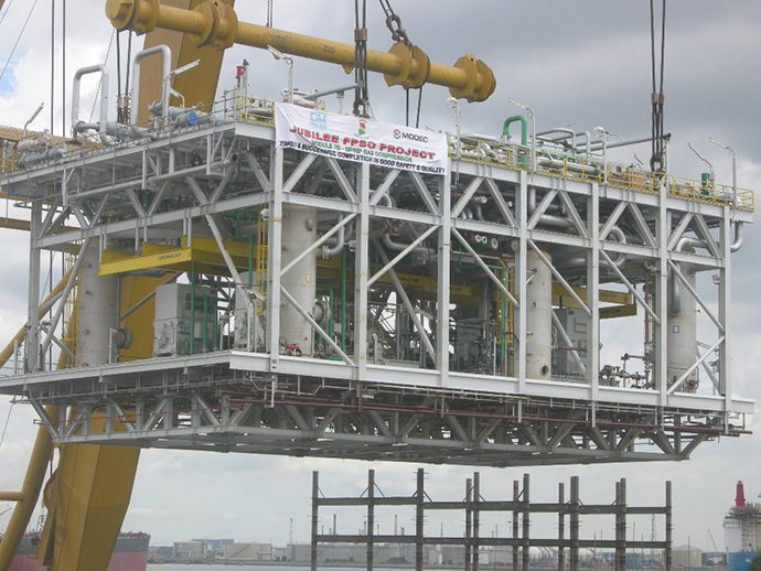 Jubilee FPSO – Pipe Racks